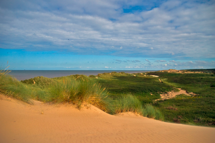 Formby, view from the sanddunes