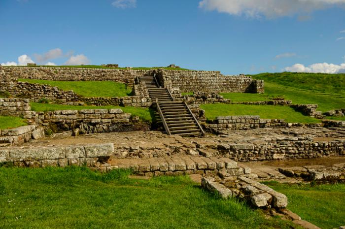 Housesteads Roman Fort, Northumberland, England