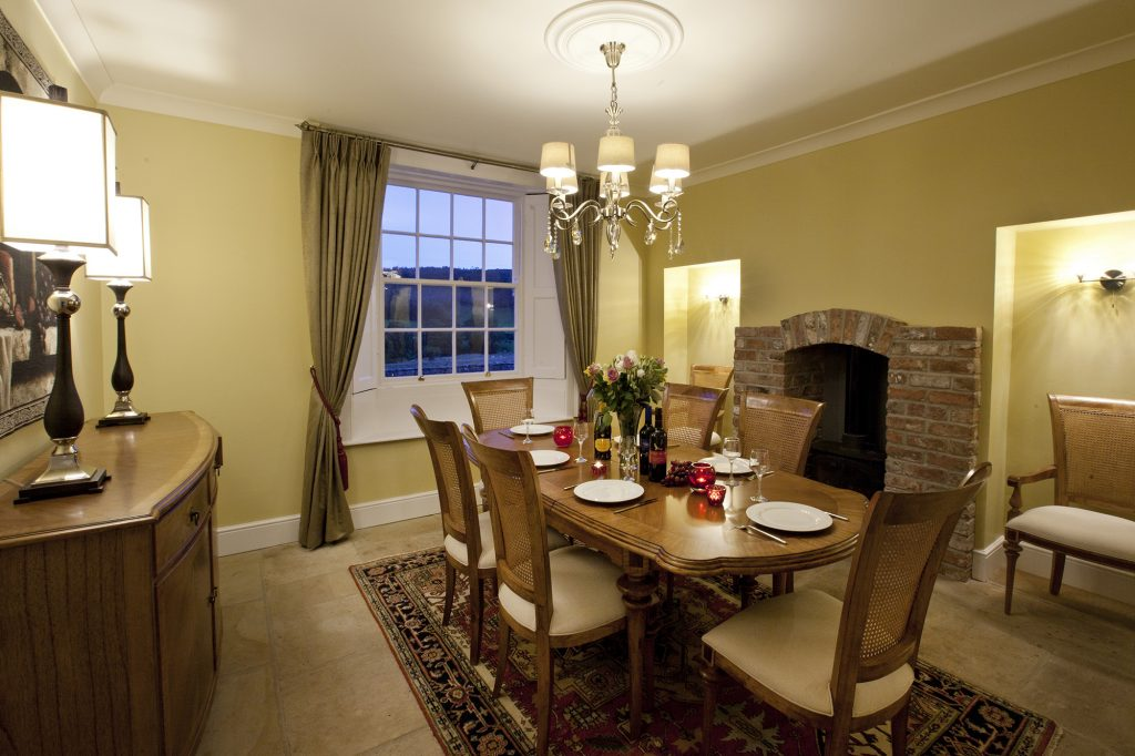 Thirley Cotes Farm - dining area
