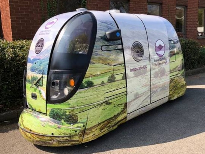 Lake District driverless cars